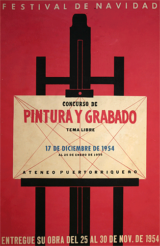 Poster #10 (Rafael Tufiño)