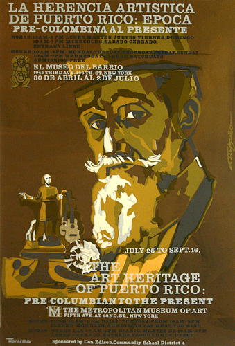 Poster #11 (Rafael Tufiño)