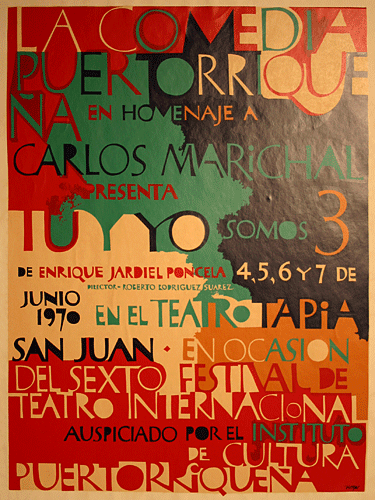 Poster #100 (Lorenzo Homar)