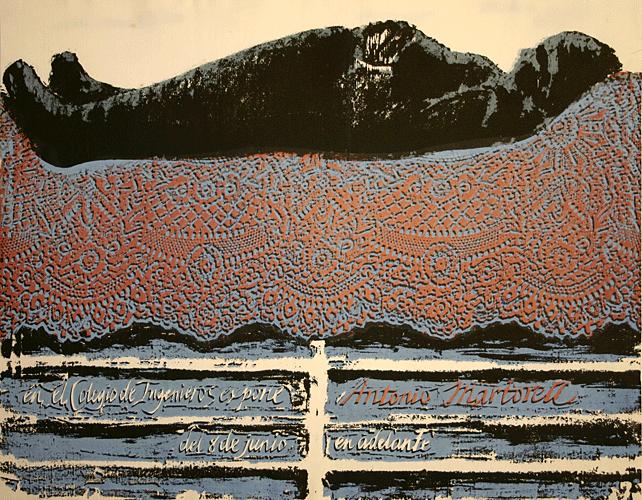 Poster #256 (Antonio Martorell)