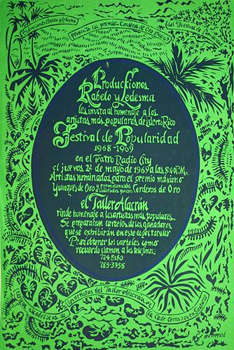 Poster #261 (Antonio Martorell)